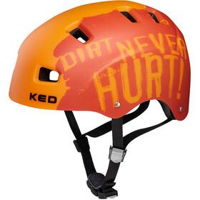 KED 5Forty Helmet Kinder dirt orange